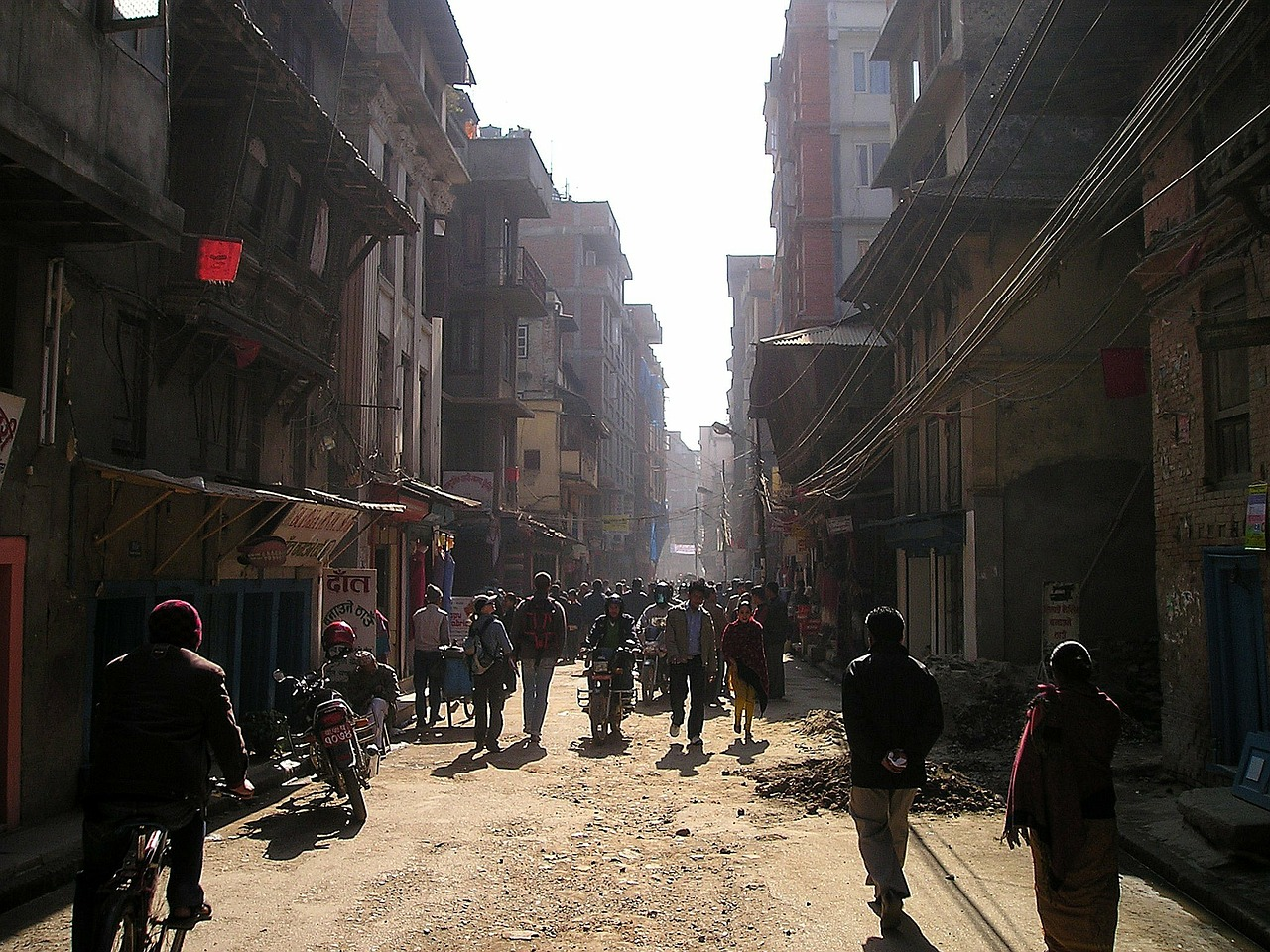 nepal,kathmandu,road,center,chaotic,free pictures, free photos, free images, royalty free, free illustrations