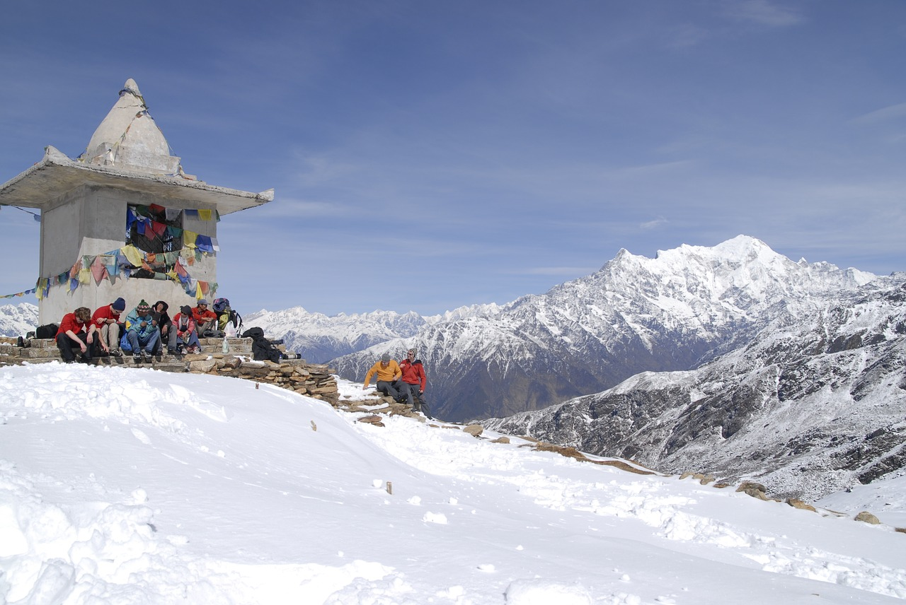 Winter in North East India