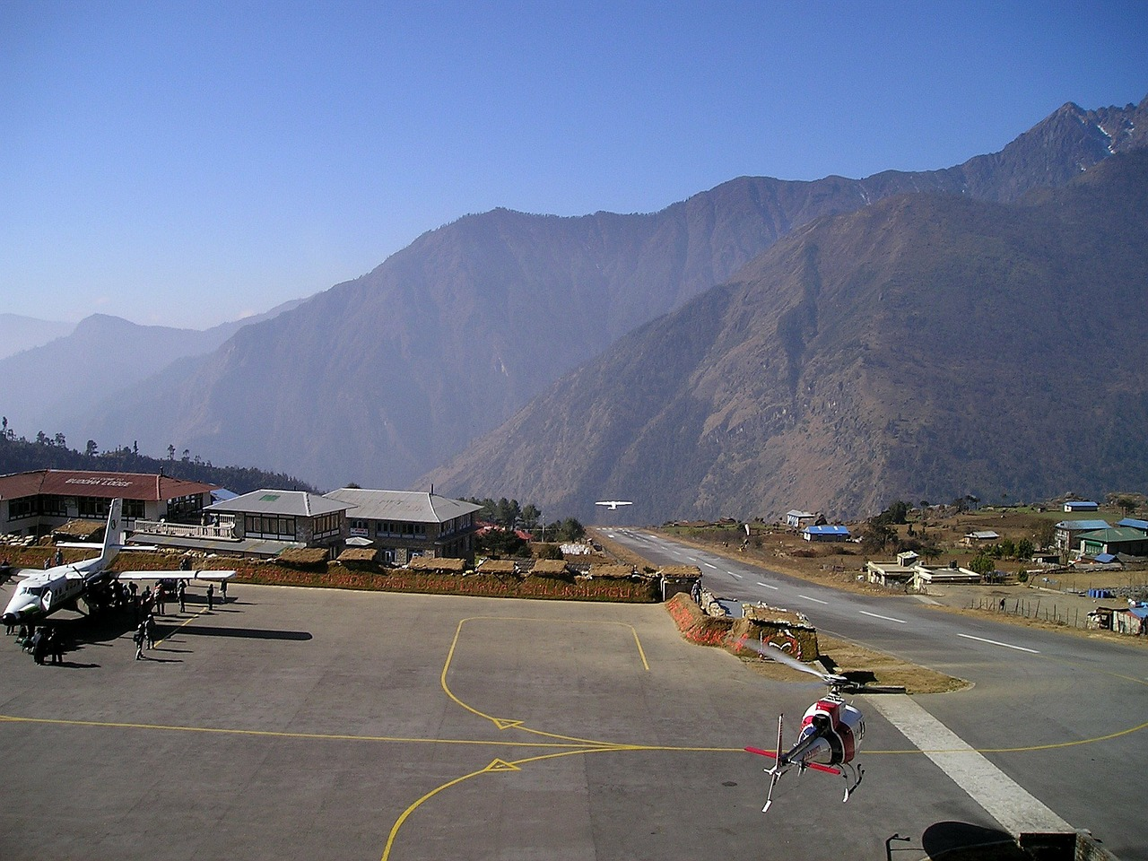 nepal airport lukla free picture