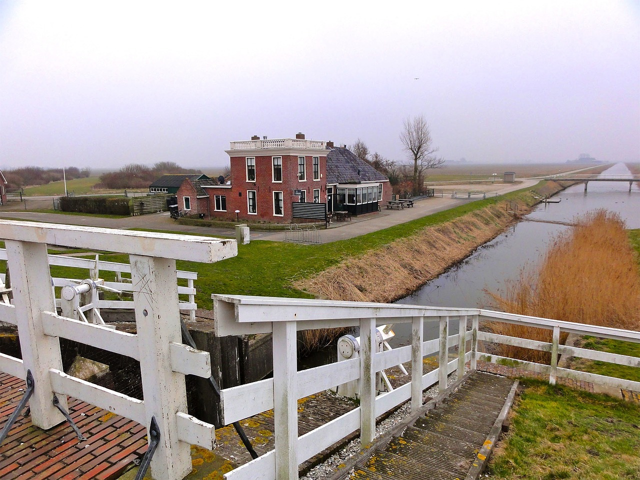 netherlands landscape river free photo