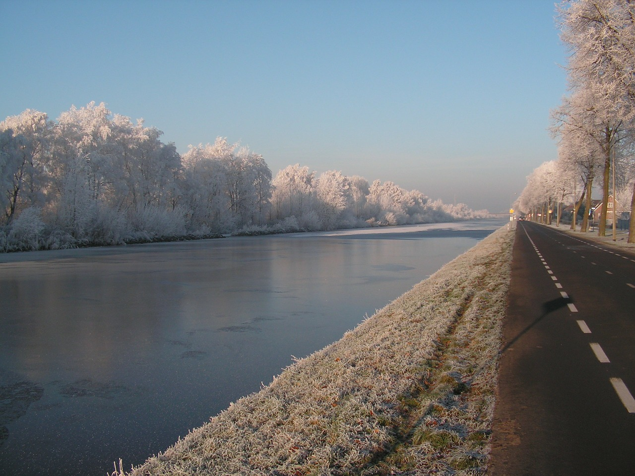netherlands river water free photo