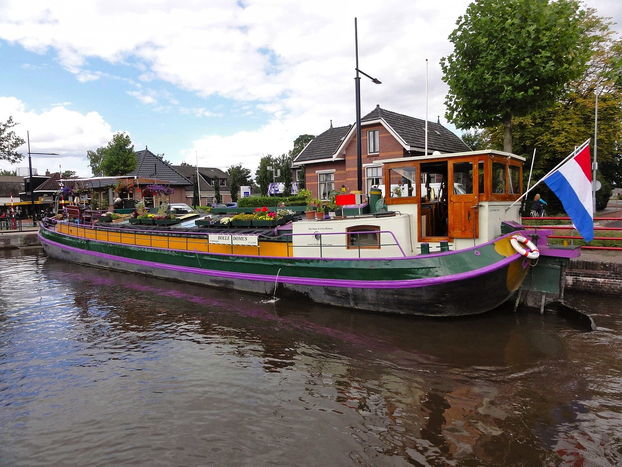 netherlands ship boat free photo