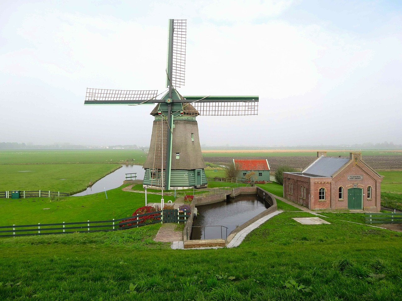 netherlands scenic landscape free photo