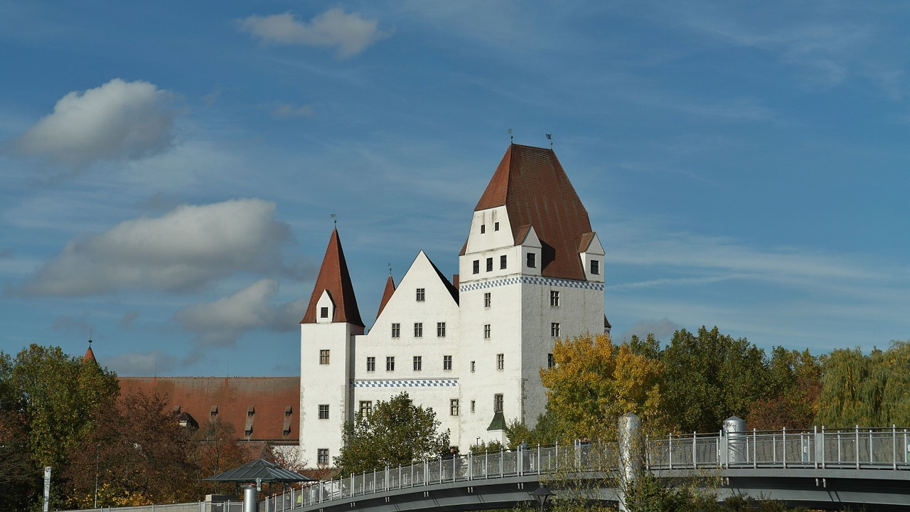 new castle ingolstadt building free photo