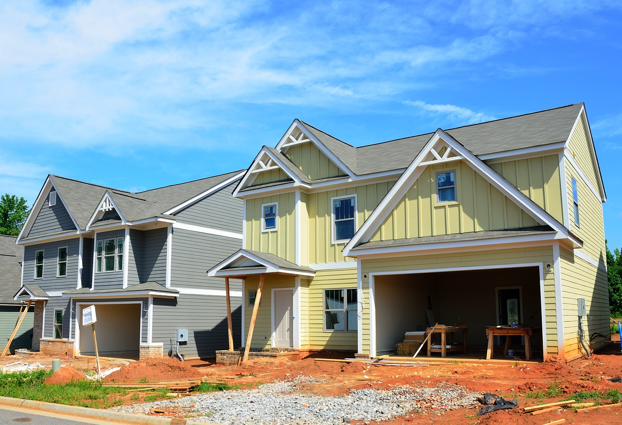 new home construction industry free photo