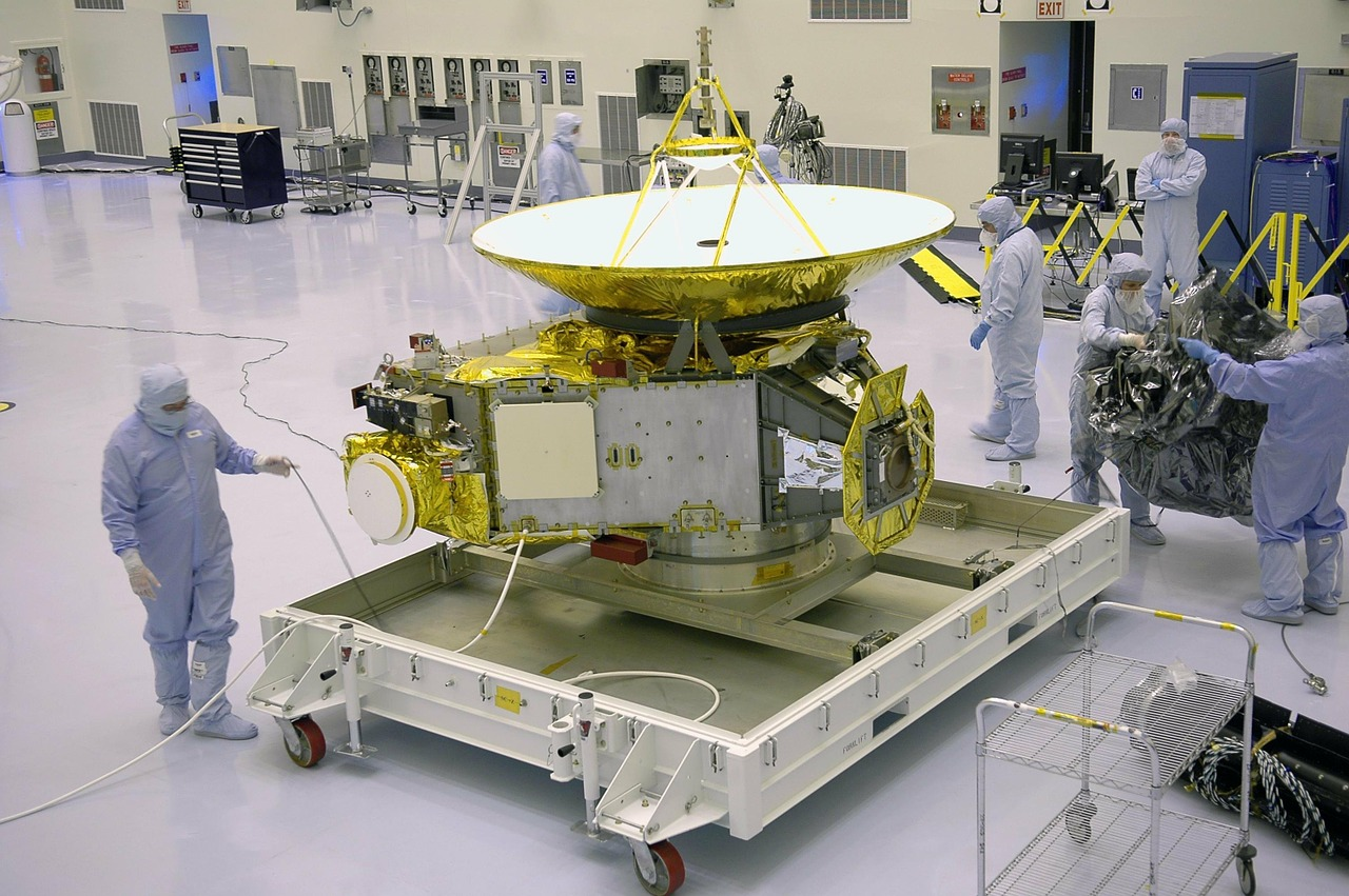 new horizons space probe nasa free photo
