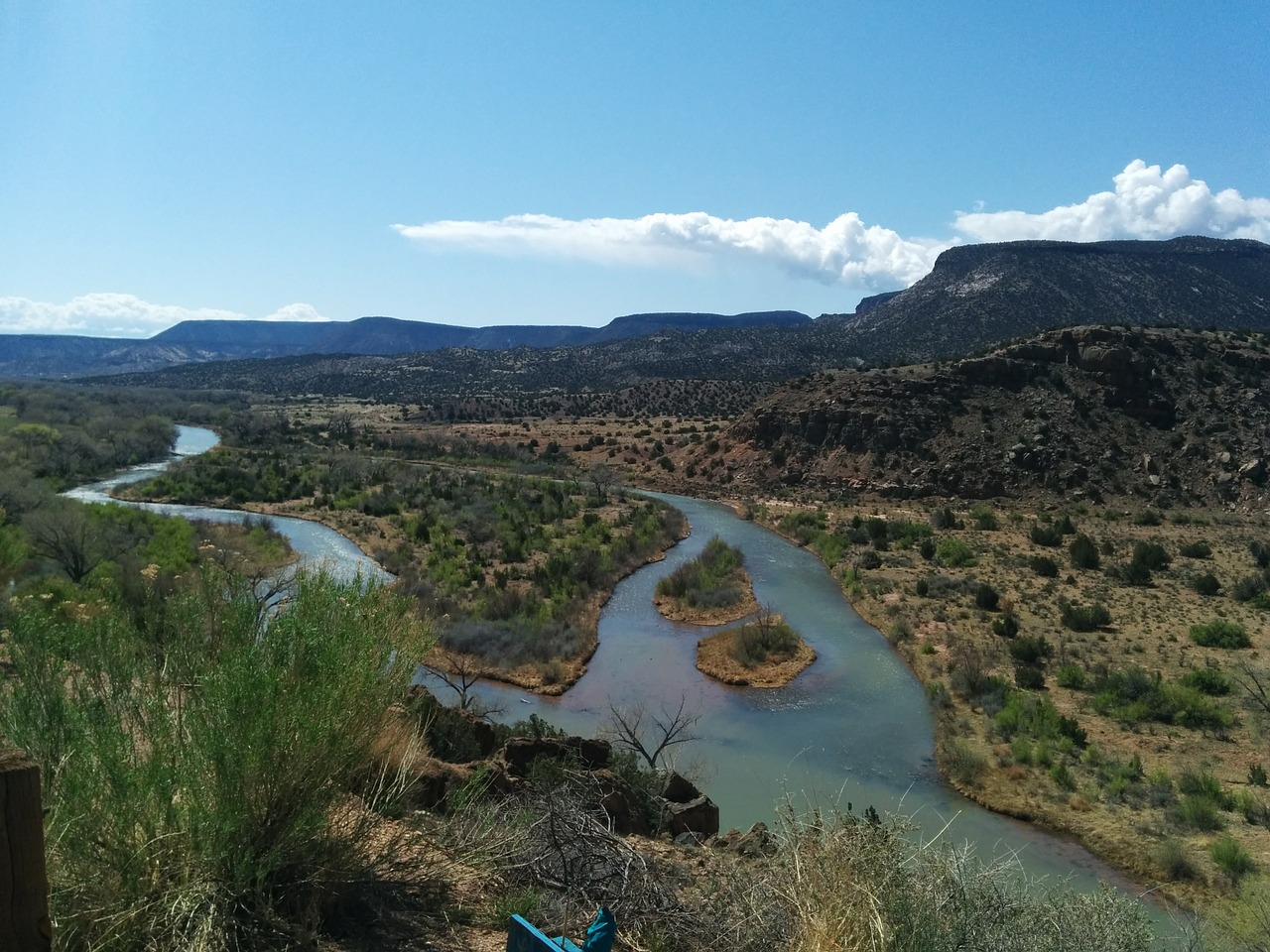 new mexico river chama river free photo