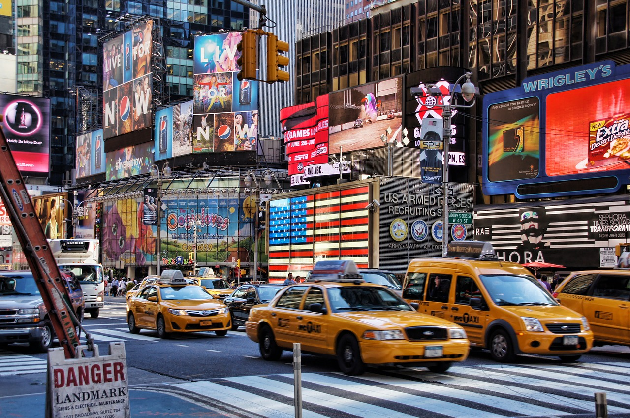 new york broadway time square free photo