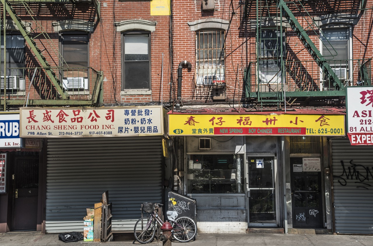 new york chinatown manhattan free photo