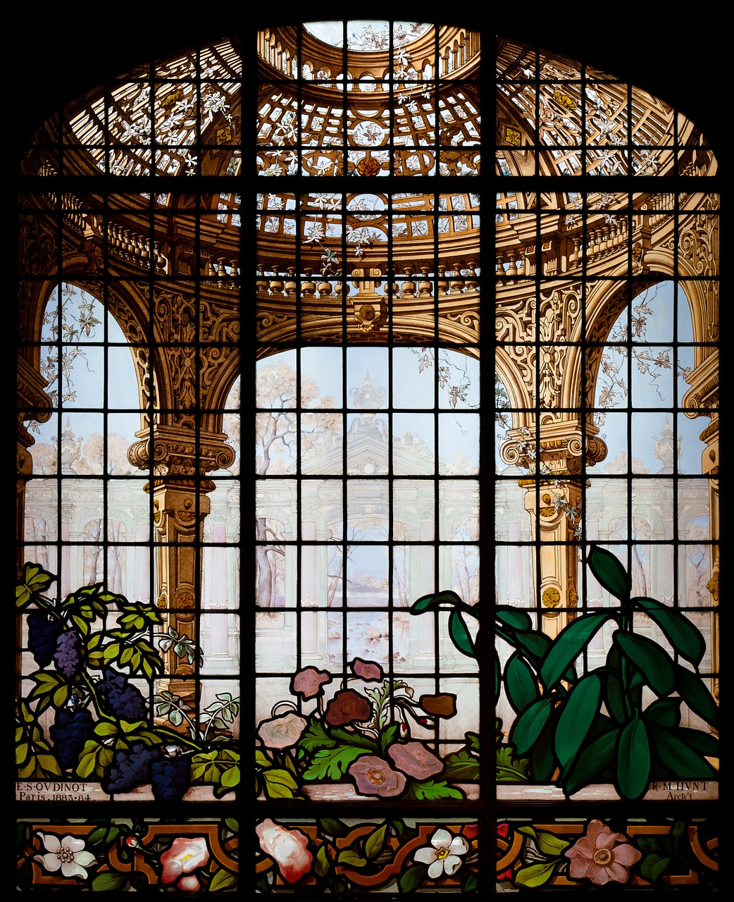 new york city,henry g marquand house,landmark,historical,building,inside,architecture,stained,stained-glass window,beautiful,window,free pictures, free photos, free images, royalty free, free illustrations, public domain
