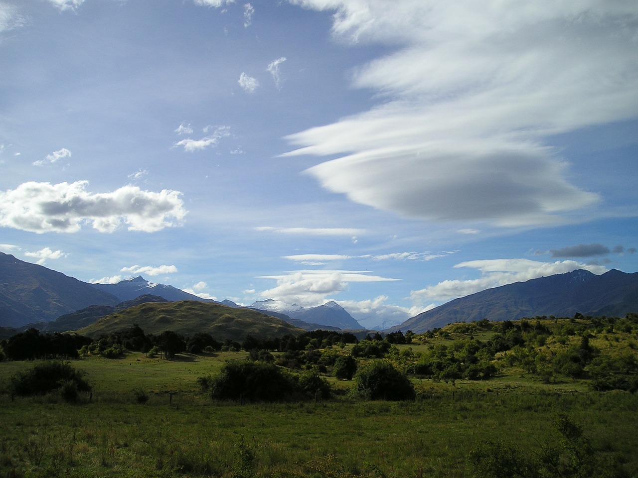 new zealand nature clouds free picture