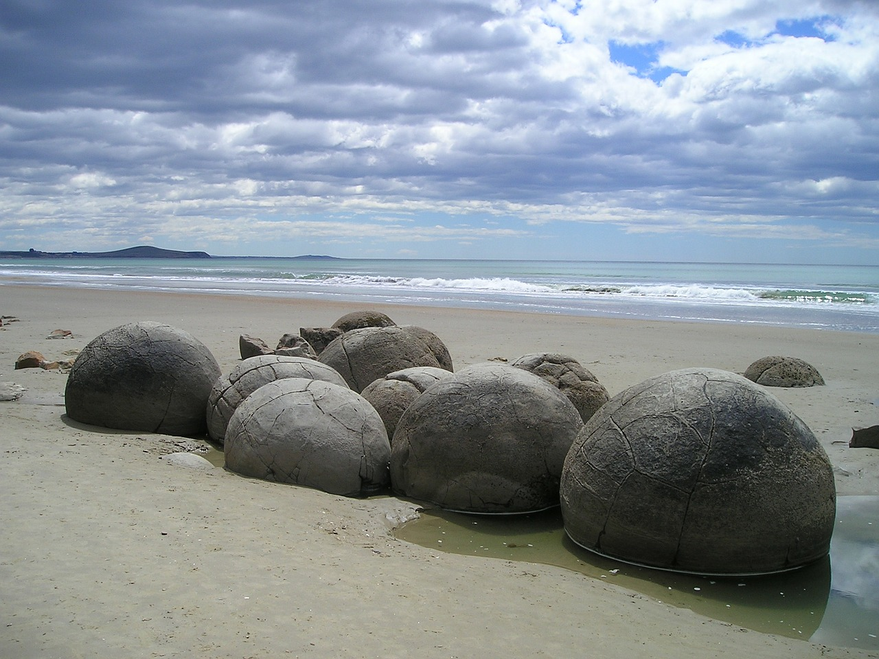 new zealand sea beach free picture