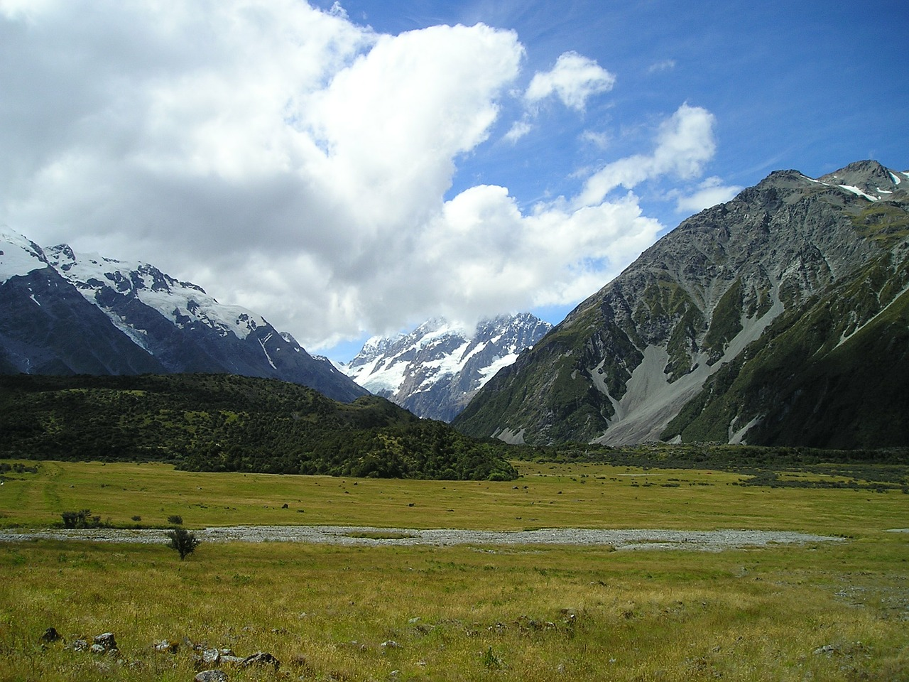 new zealand mountain mount cook free photo