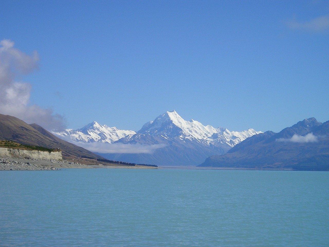 new zealand mount cook aoraki free photo