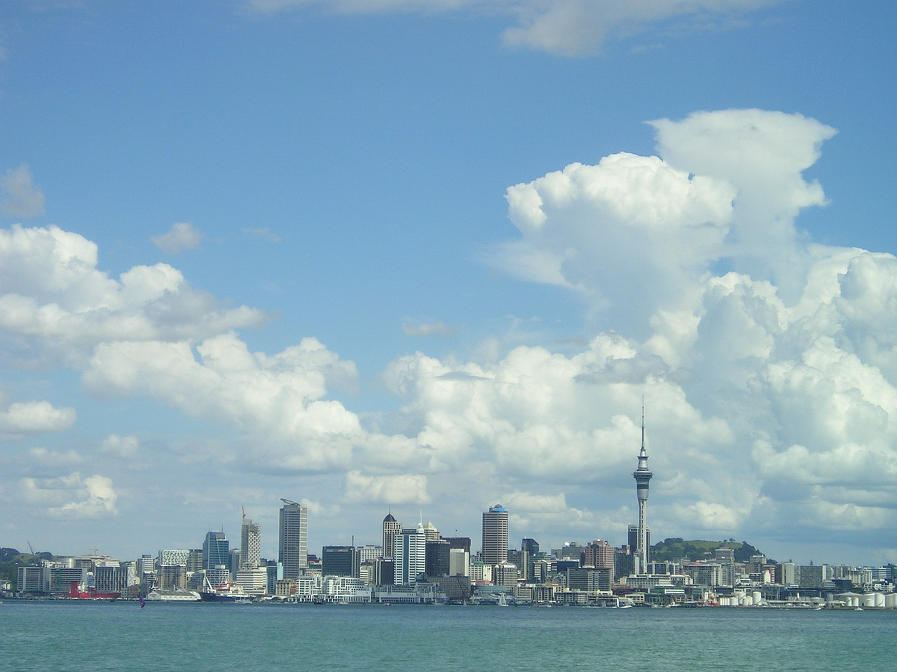 new zealand,auckland,city,skyline,skyscraper,free pictures, free photos, free images, royalty free, free illustrations, public domain