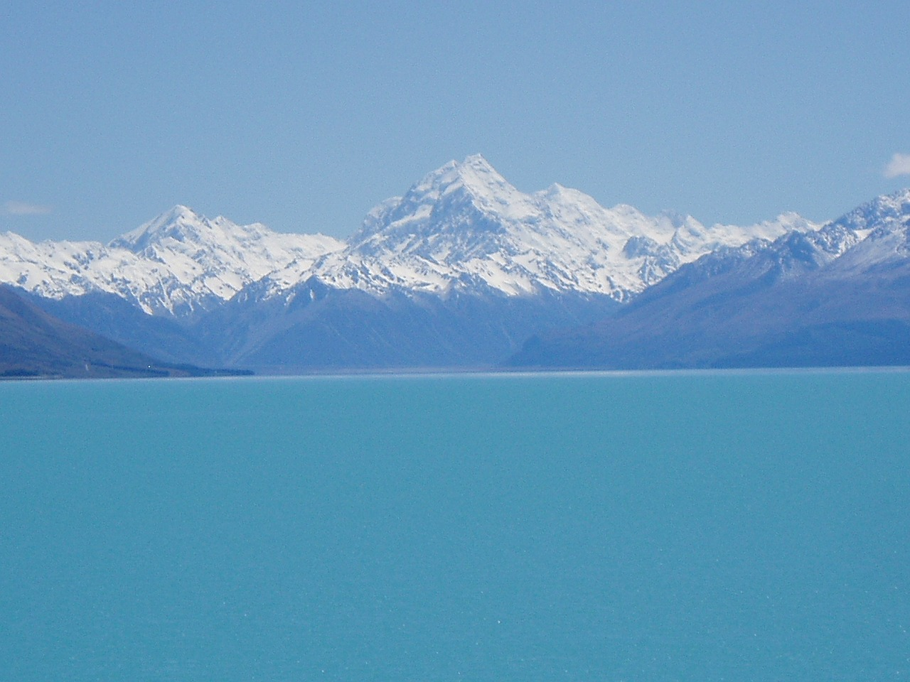 new zealand south island lake tekapo free photo