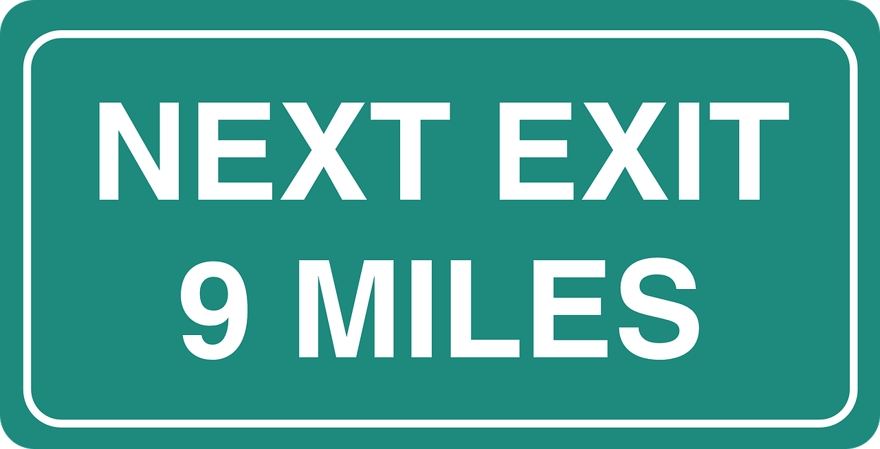 next,exit,9,miles,distance,sign,road sign,signage,information,ahead,road,travel,drive,driving,free vector graphics,free pictures, free photos, free images, royalty free, free illustrations, public domain