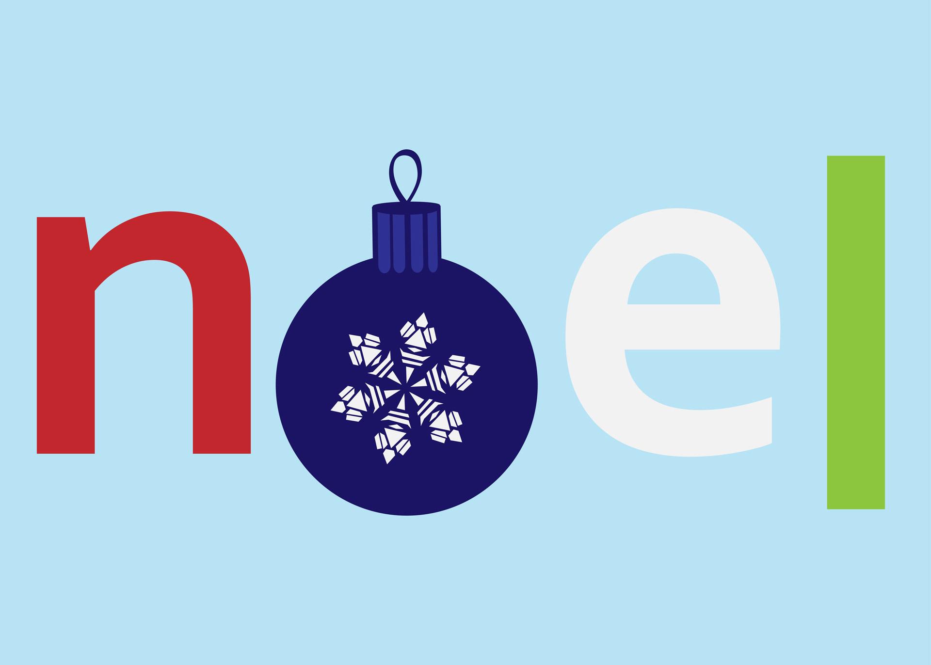 Noel Image.Noel Tekstas Kalėdos žodis Iliustracijos Nemokamos