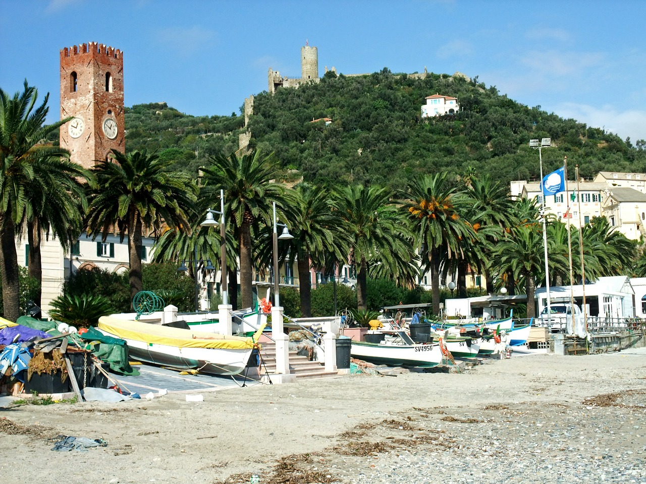 noli italy beach free photo