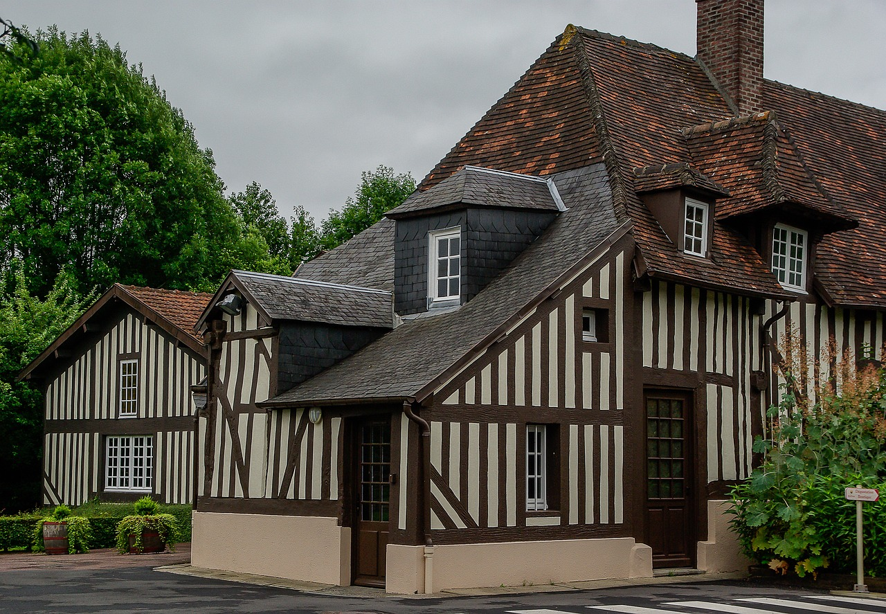Normandy Stud Old House Roofing Free Pictures Free Image From Needpix Com