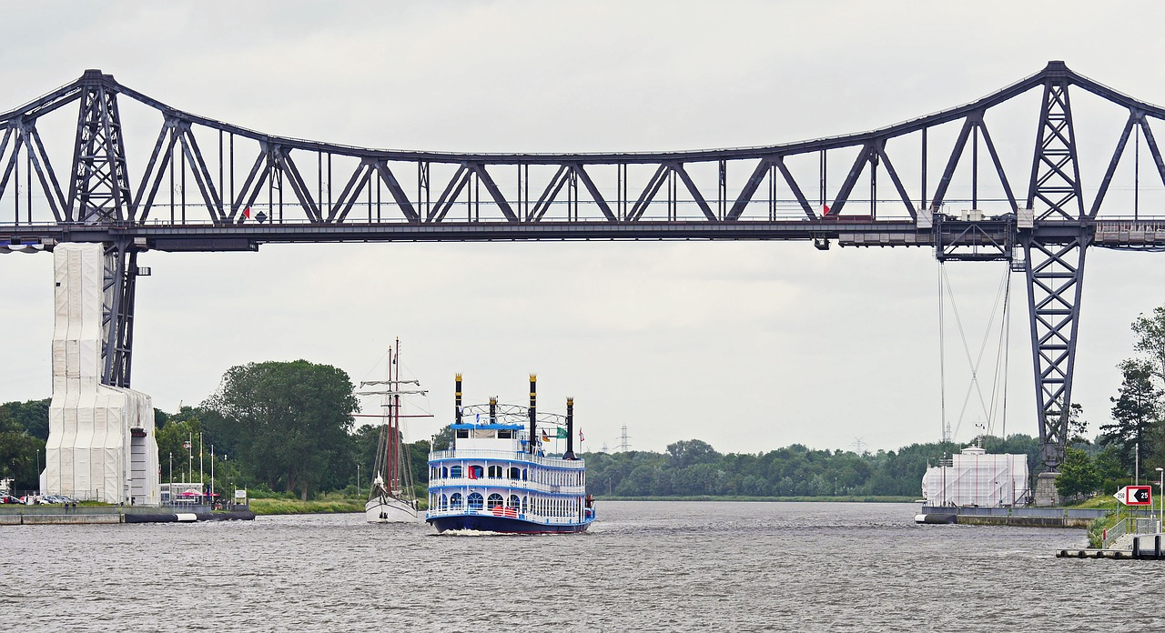 north america rendsburg high bridge free photo