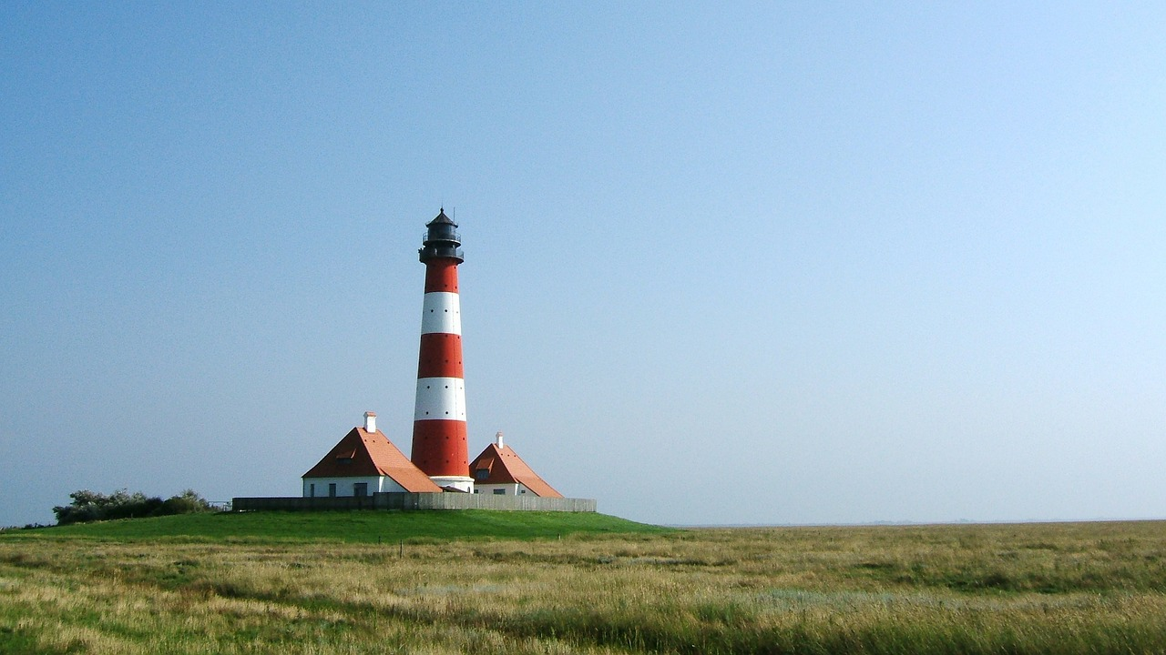 north sea lighthouse watts free photo