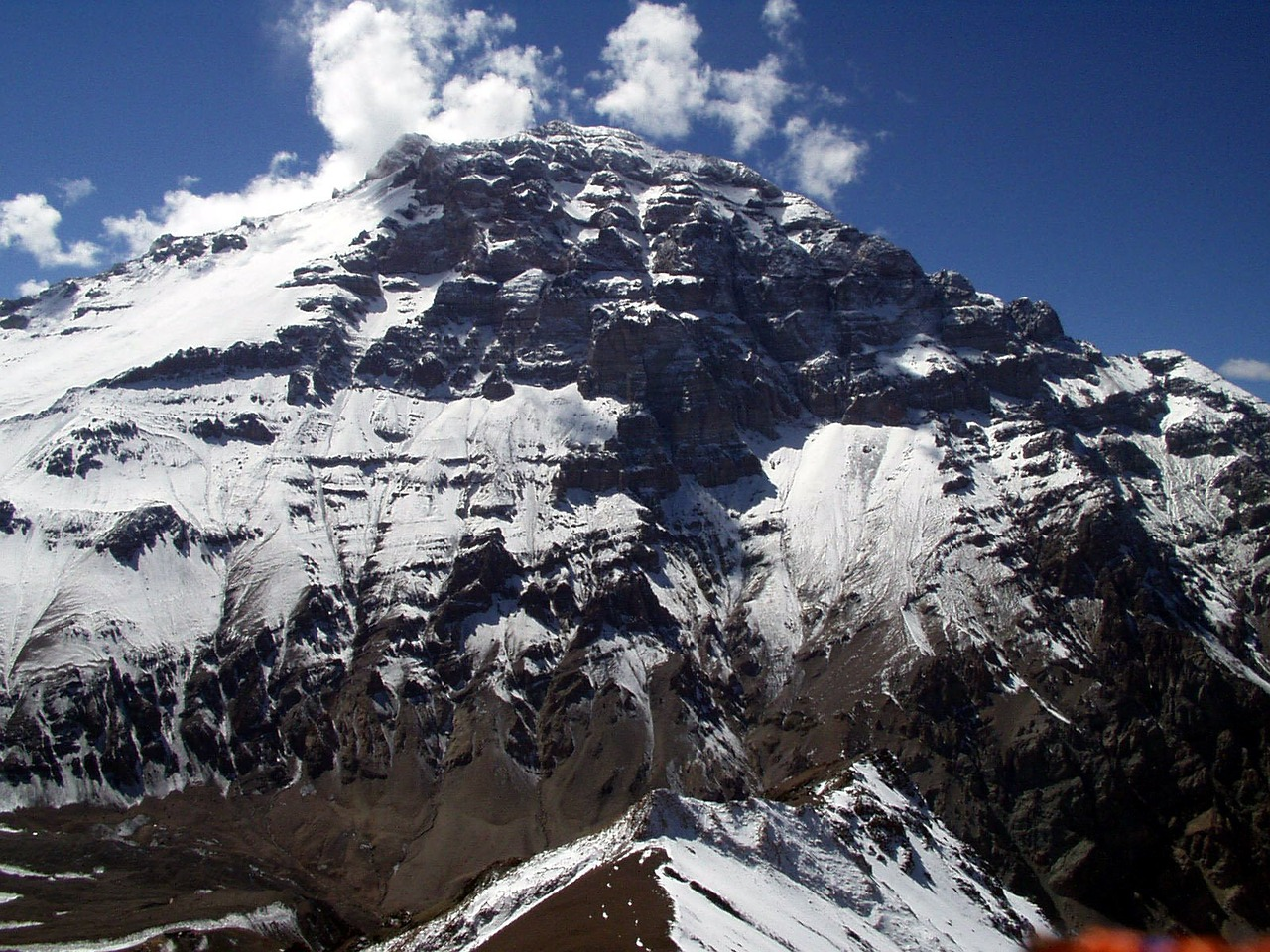 north wall aconcagua expedition free photo