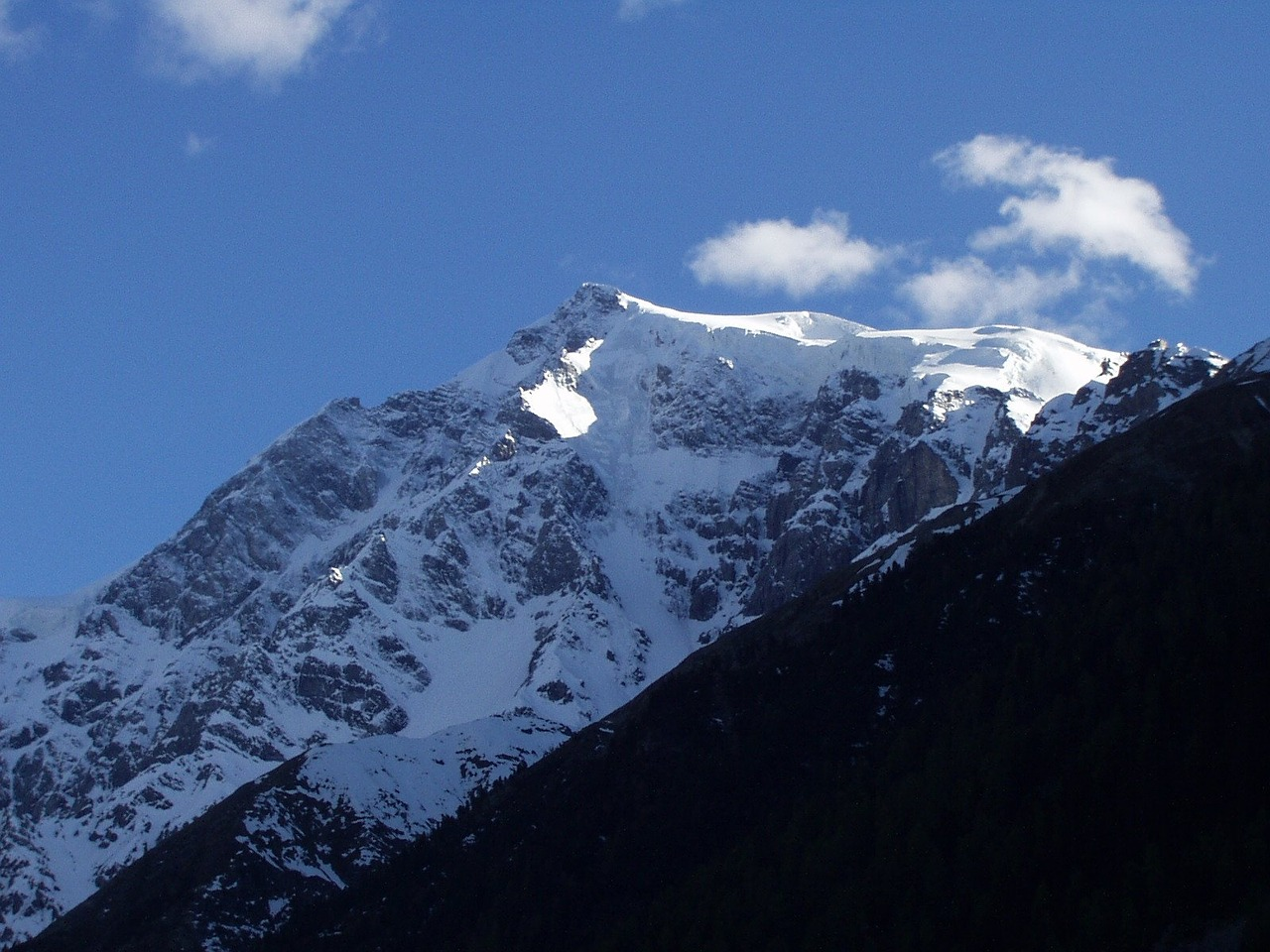north wall ortler italy free photo
