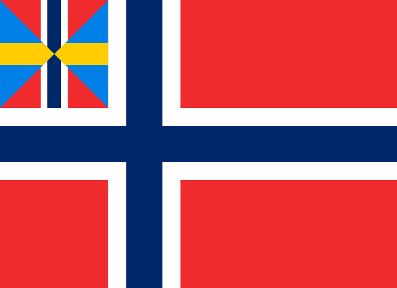 norway flag national free photo
