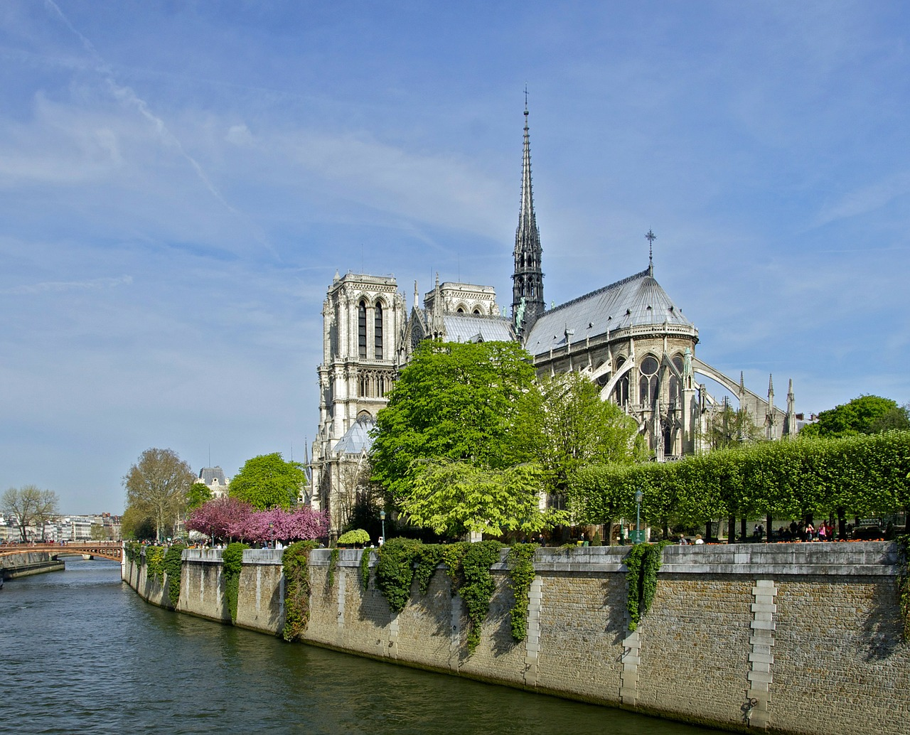 notre dame paris france free photo