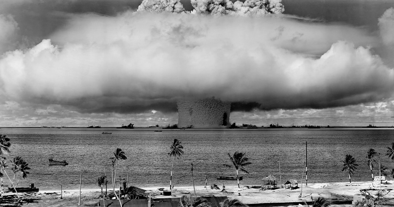 nuclear weapons test nuclear weapon weapons test free photo