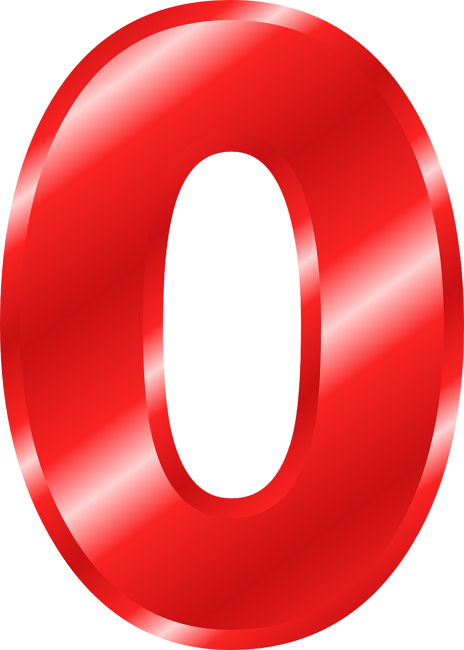 Number 0 Digit Figure Cipher Free Image From Needpix Com