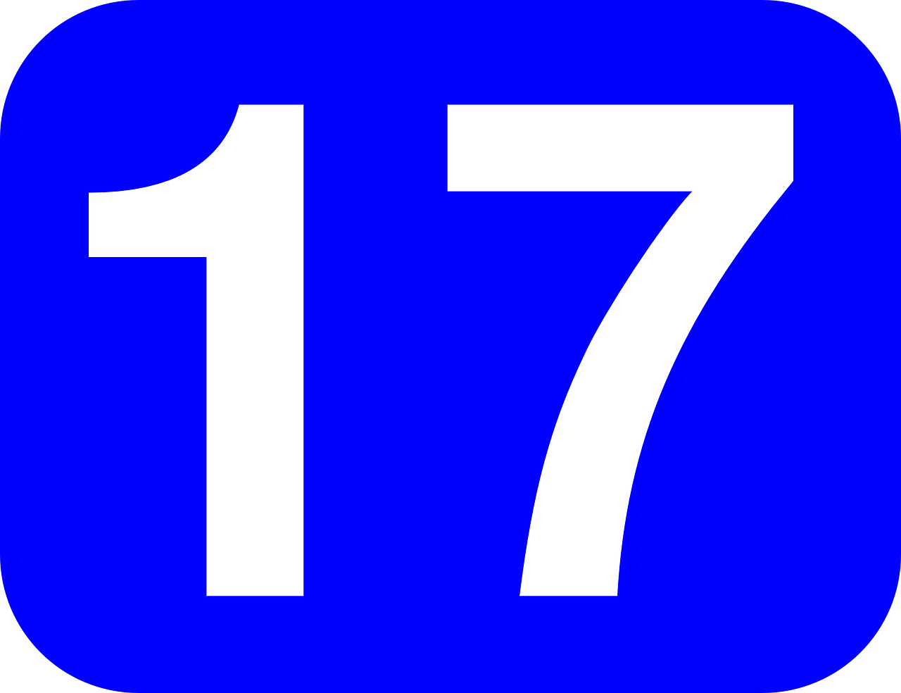 number seventeen 17 free photo