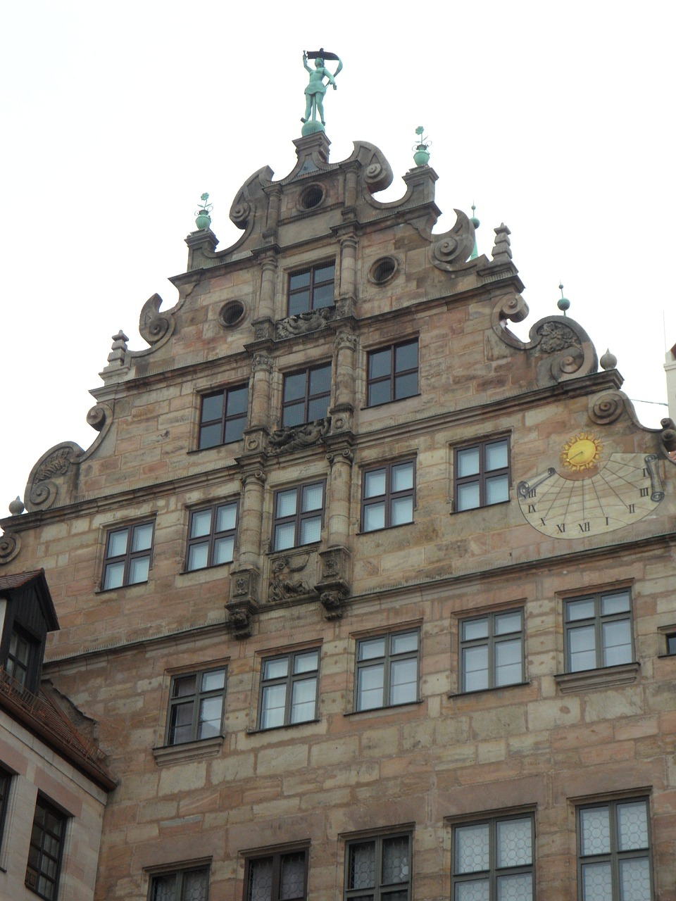 nuremberg old town building free photo