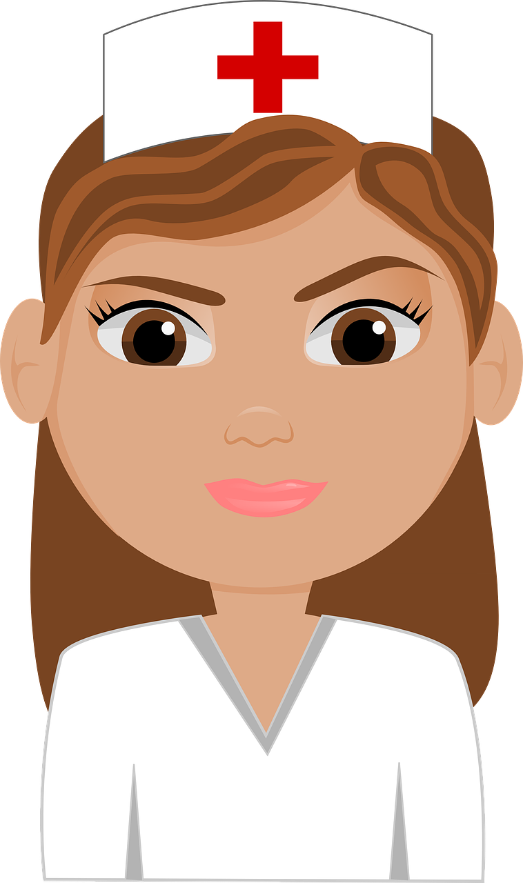 nurse,woman,person,nursing,medical,face,lady,female,beautiful,brown,cute,hospital,cap,nurses,professional,health,service,care,vocational,free pictures, free photos, free images, royalty free, free illustrations