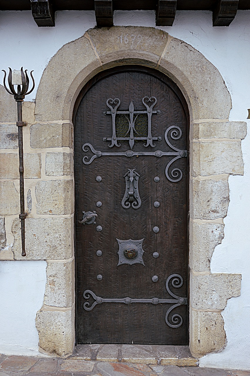 Old Doorwrought Ironentrydoorpierre Free Photo From Needpix