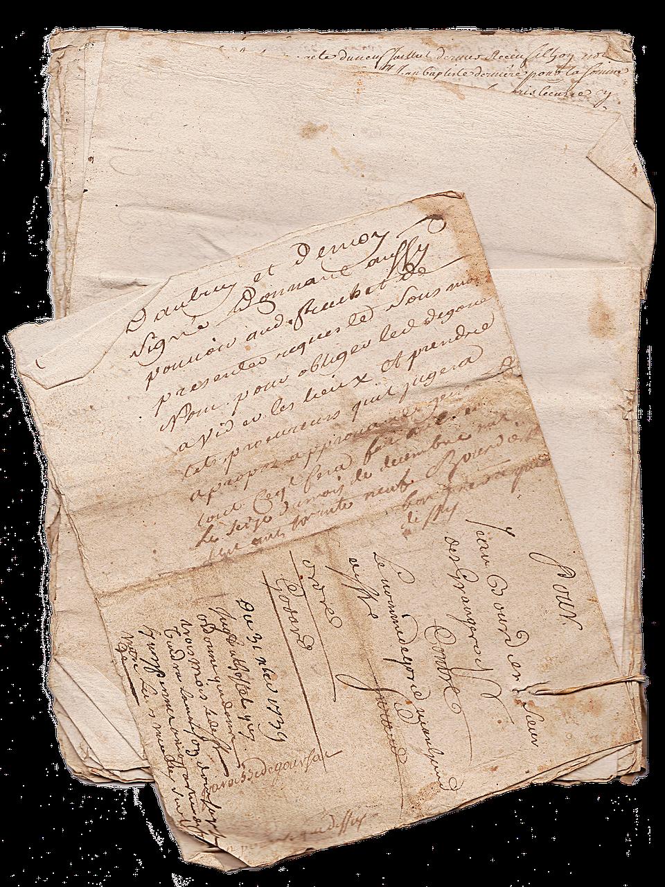 Old Paper Vintage Texture Document Parchment Free Photo