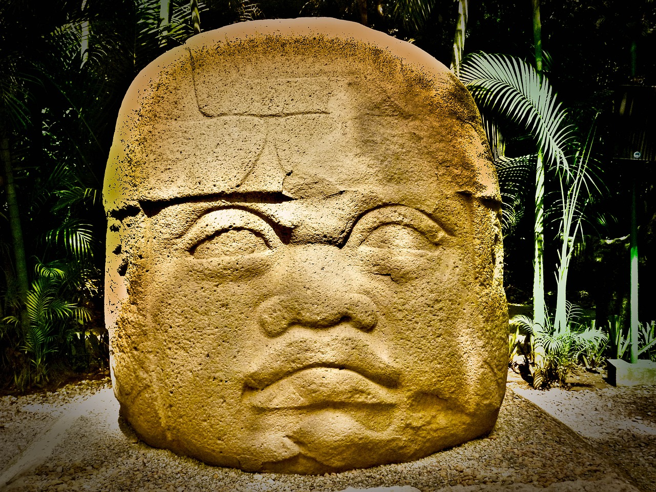 olmec mexico sale free photo