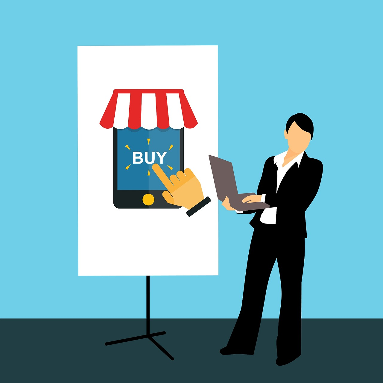 online shop start a new business setup directions free photo