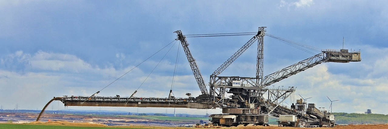 open pit mining commodity removal free photo