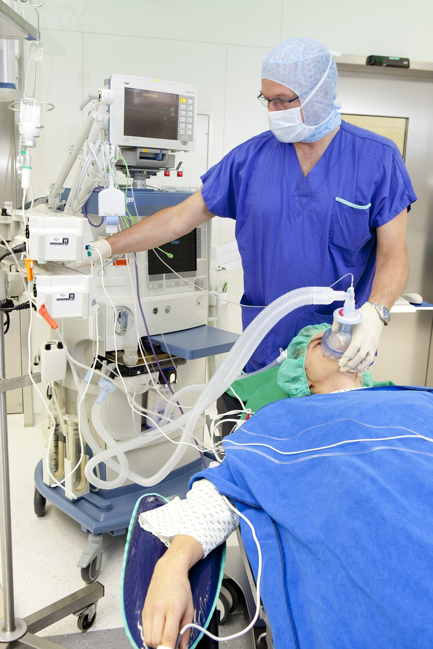 operation respiratory mask anesthesia free photo