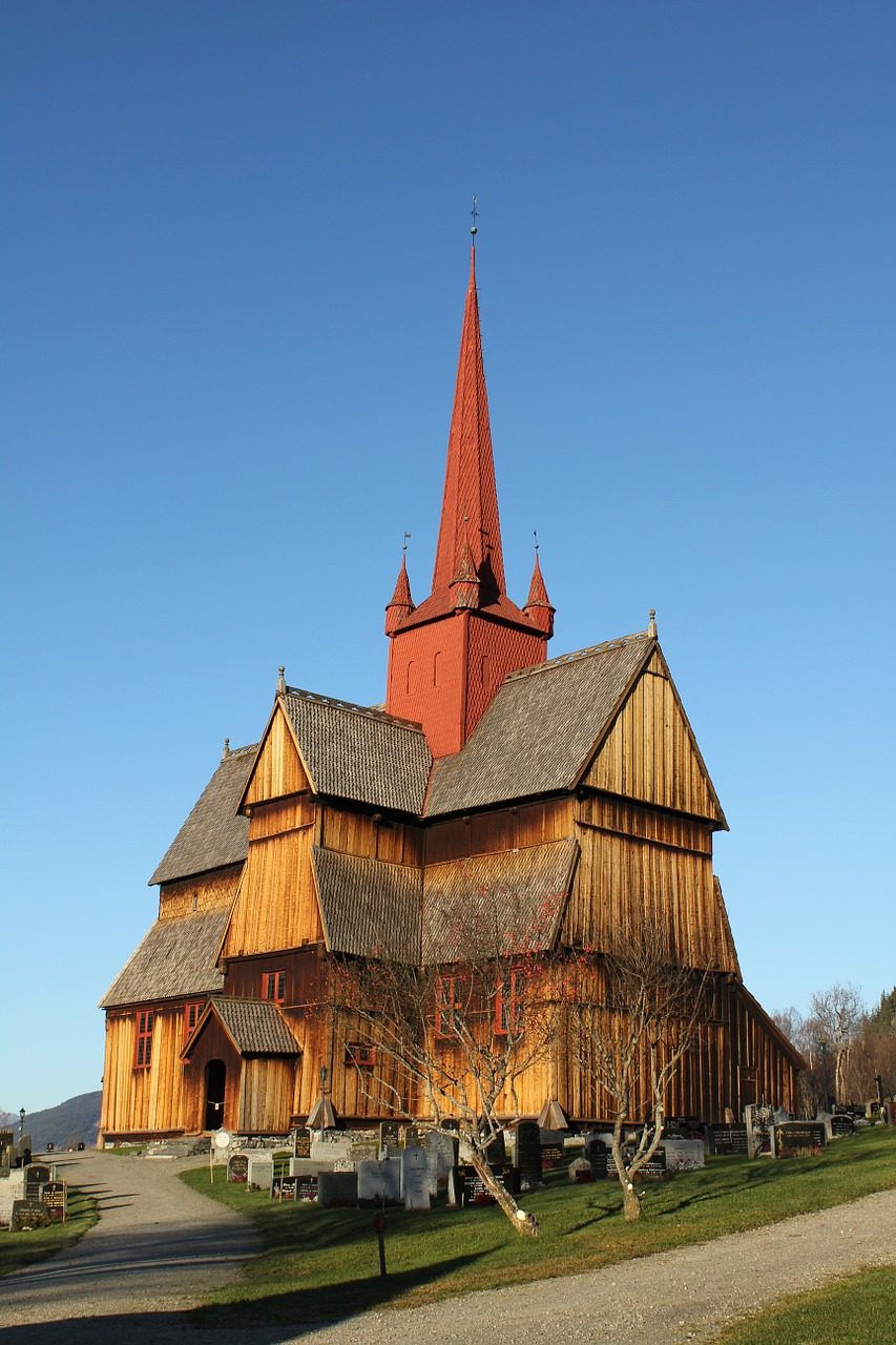 oppland norway church free photo
