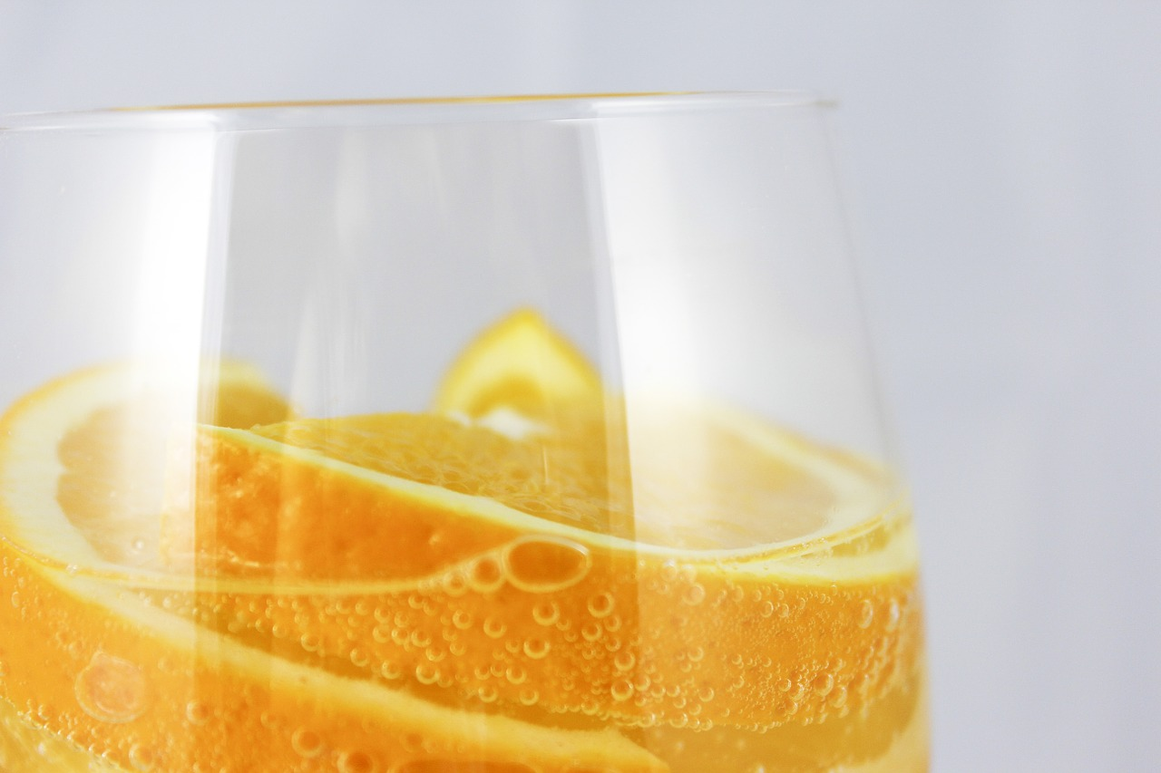 oranges orange bubbles free photo