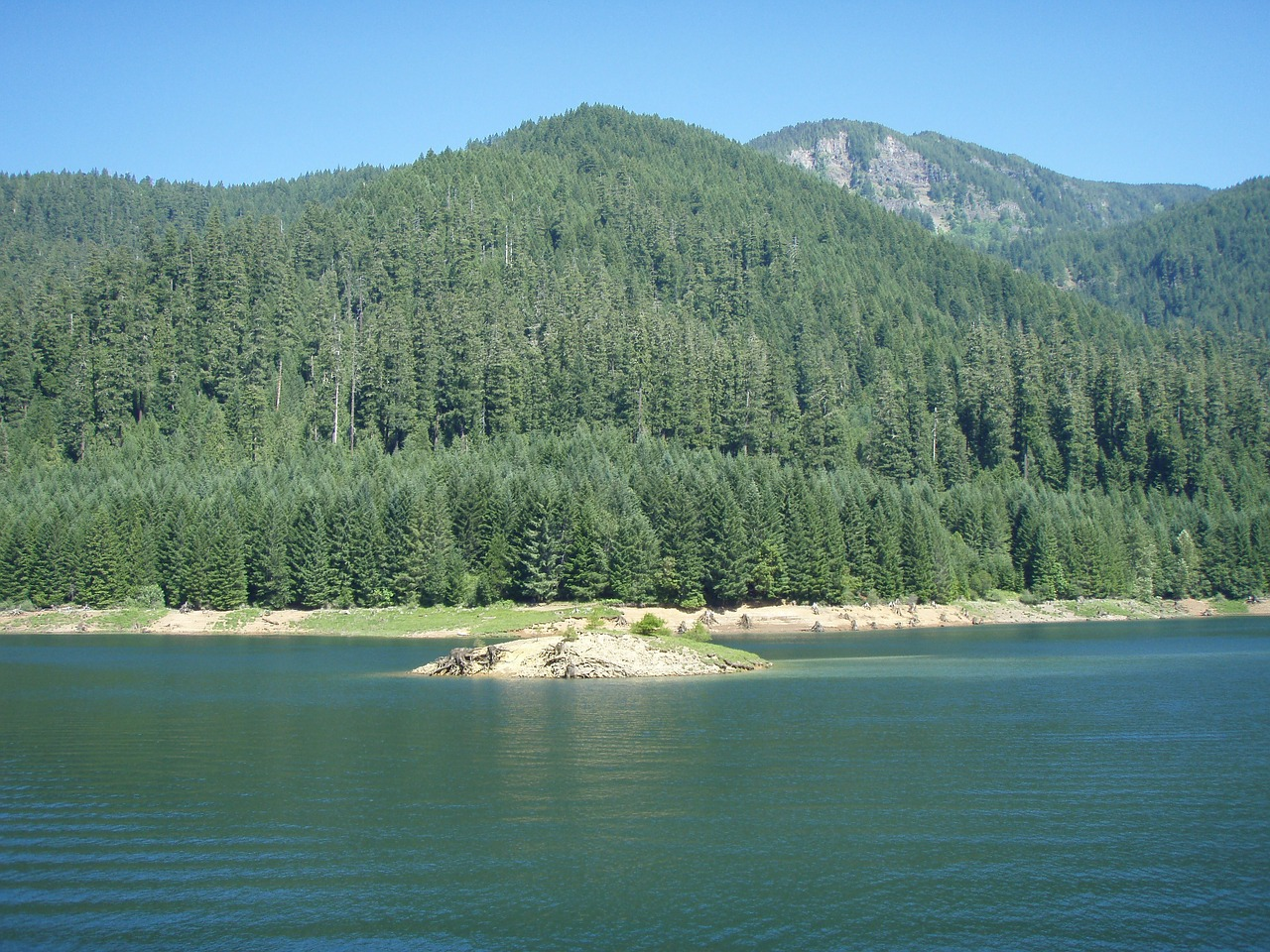 oregon cougar reservoir lake free photo