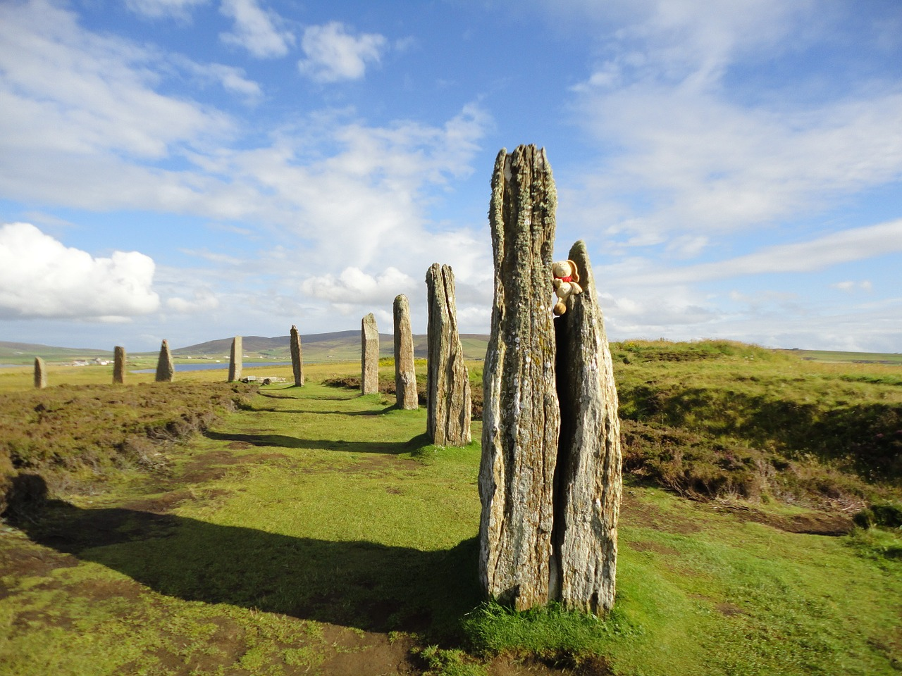 orkney island ring of brodgar stone circle free photo