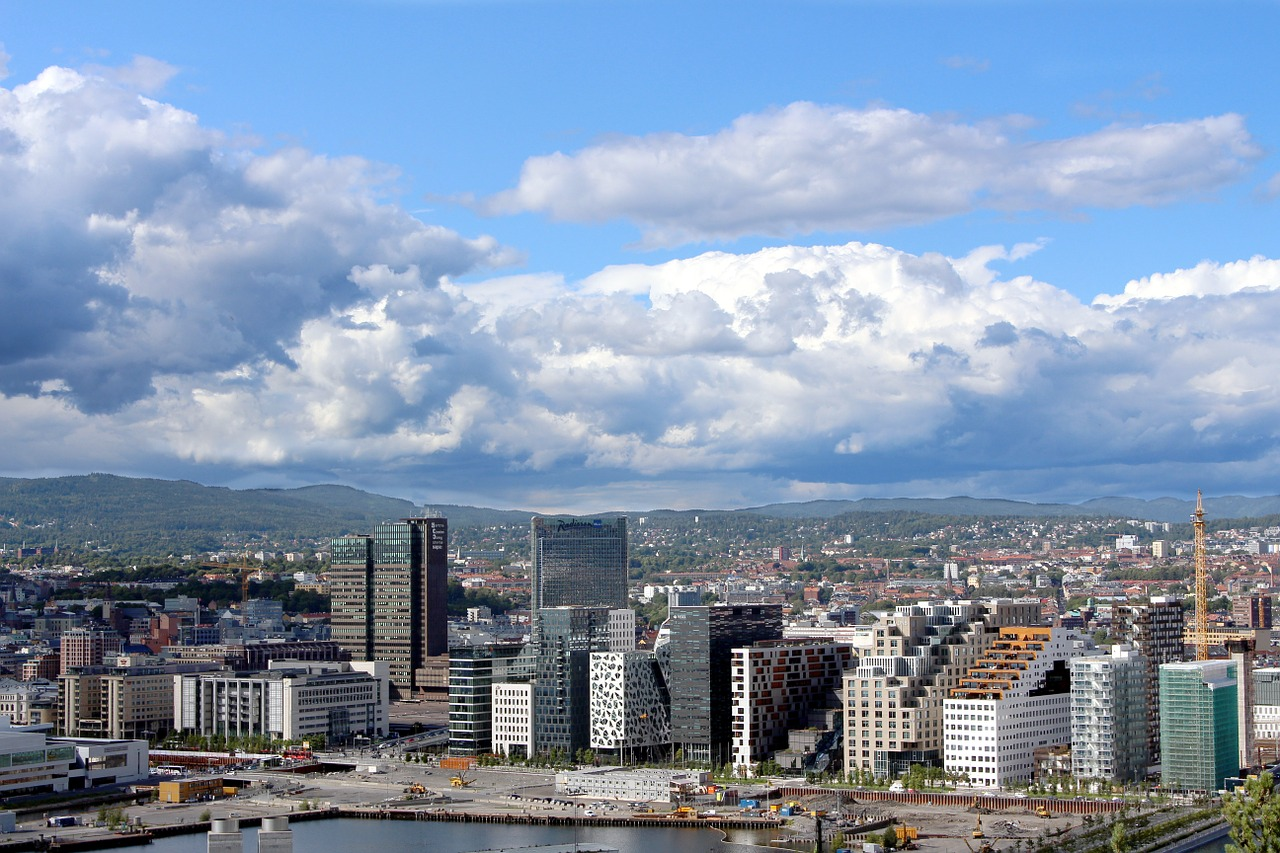 oslo norway city free photo