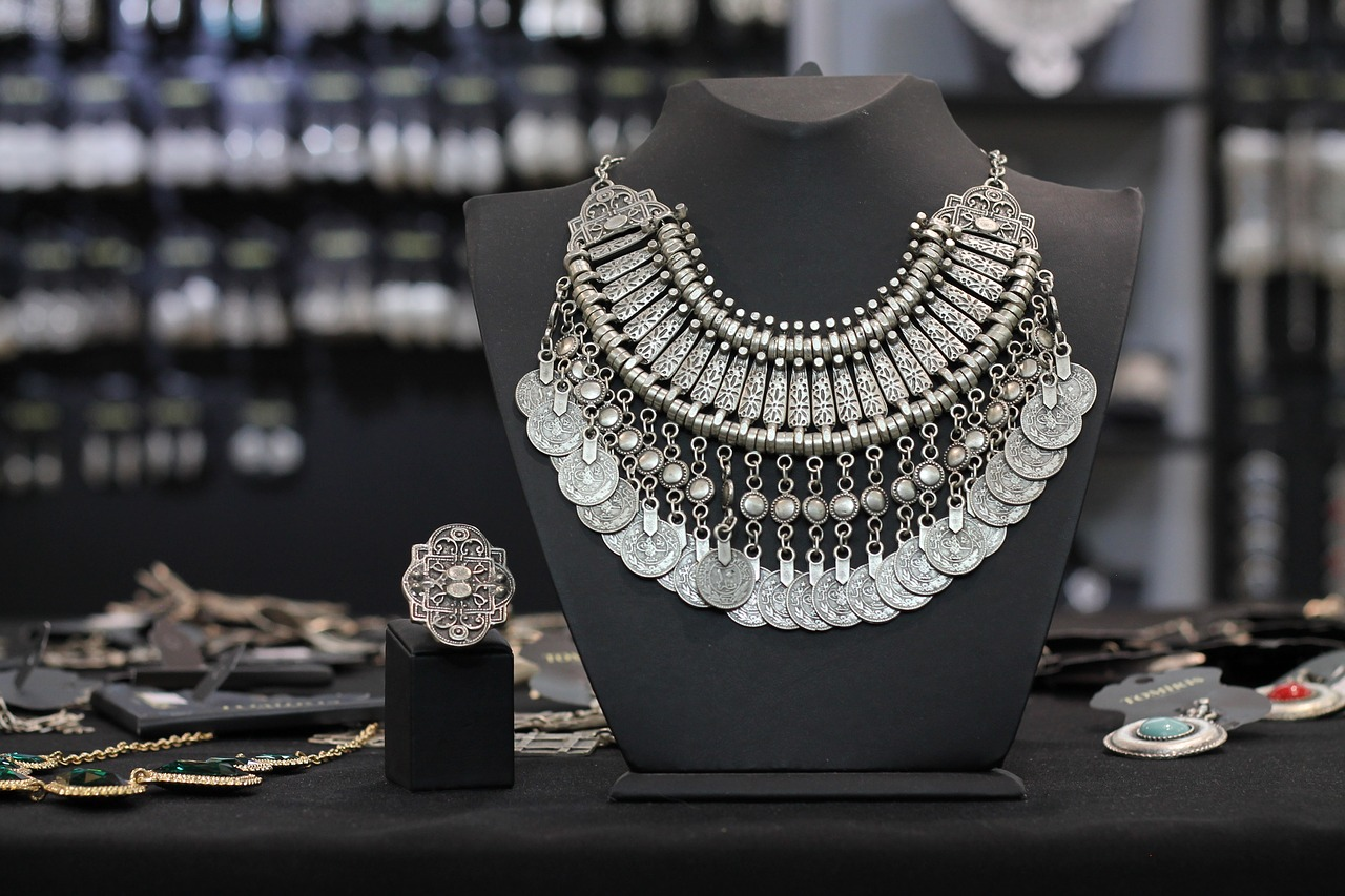 ottoman jewelry ethnic jewelry kazakh jewelry free photo