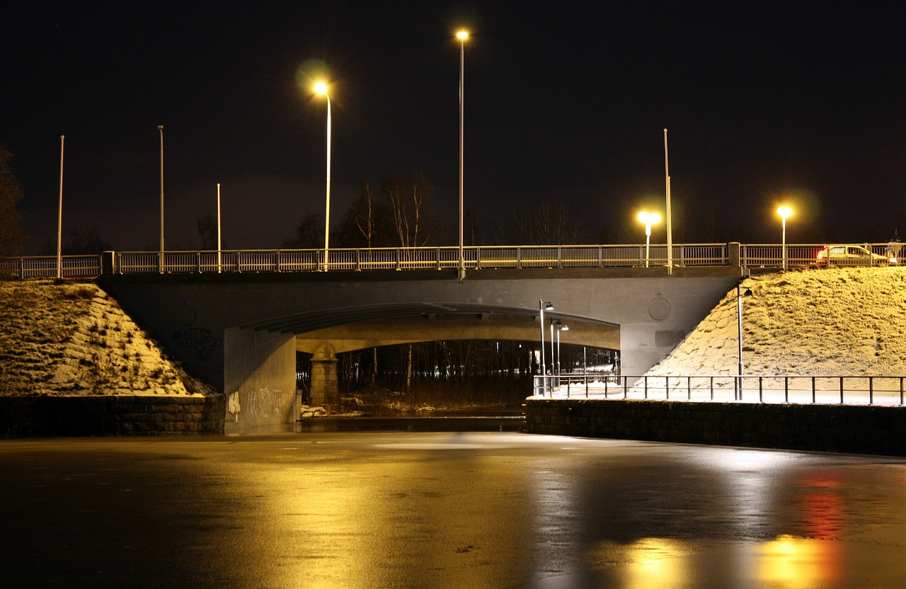 oulu finland bridge free photo