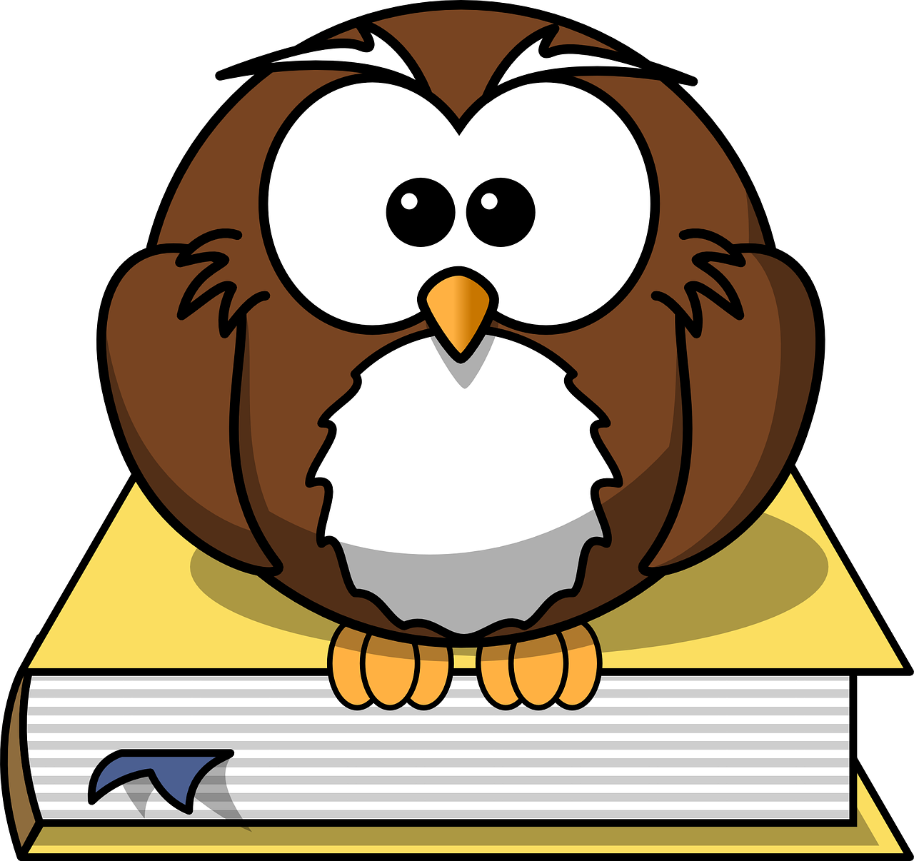 Download free photo of Owl,book,animal,literature,studying - from ...