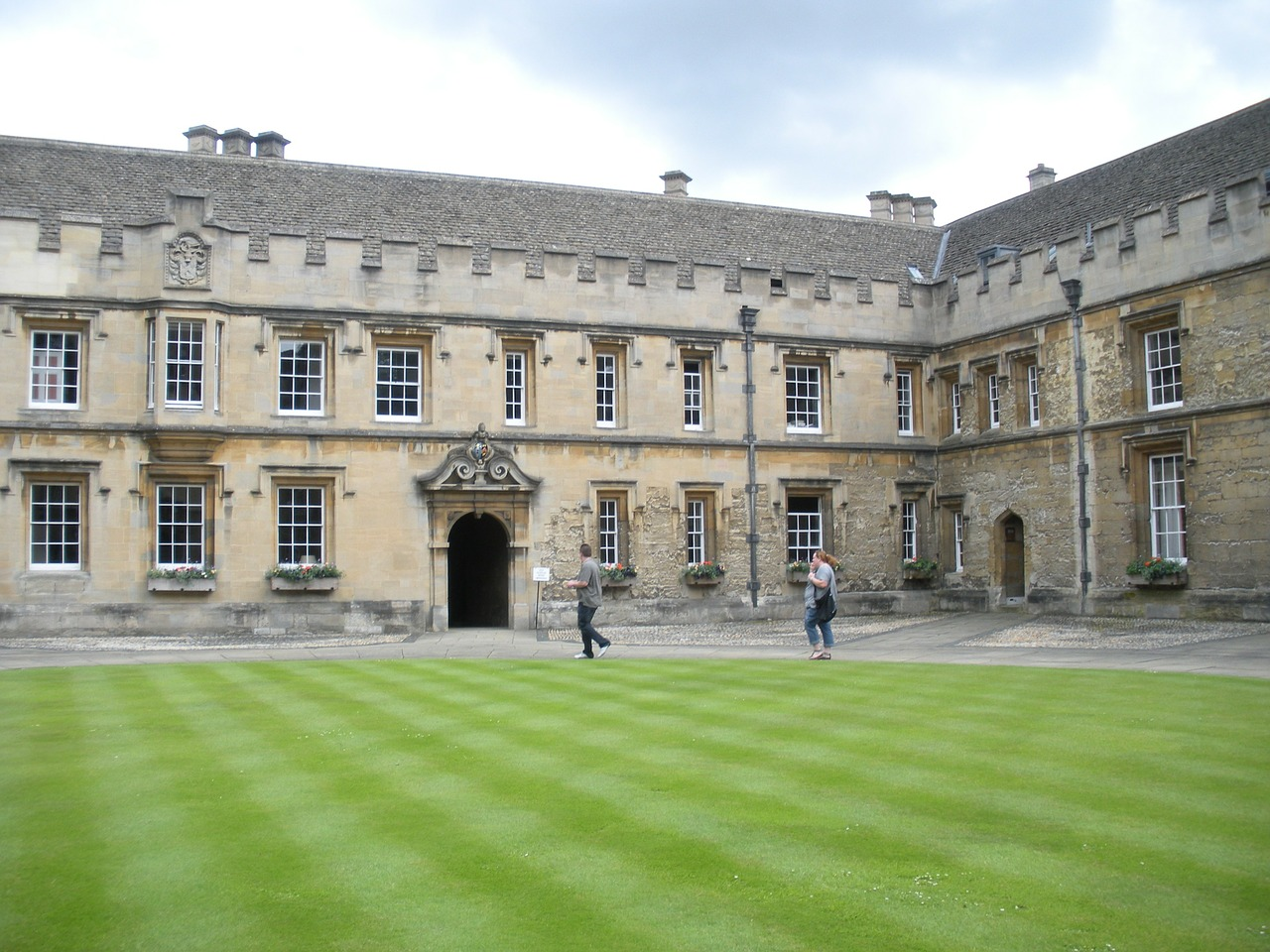 oxford college christchurch college england free photo